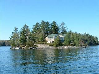 Skeleton Lake Island For Sale