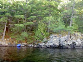 59 mill lake  water access, McDougall Ontario, Canada