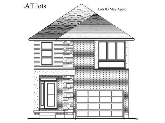 lot #83 mayapple street, Waterloo Ontario, Canada