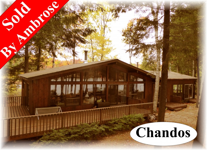183 woods bay road, Apsley Ontario, Canada Located on Chandos Lake