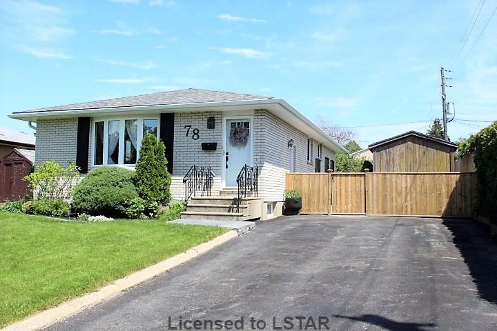 78 SPARTA ST, St. Thomas, Ontario, Canada