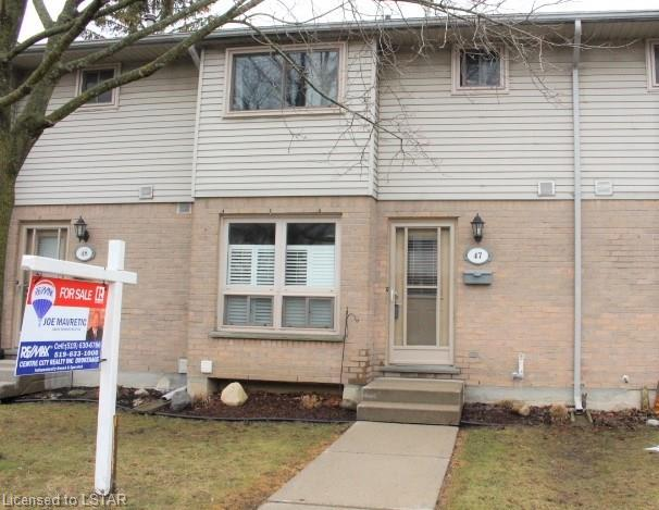 89 HIGHVIEW Avenue Unit# 47, London, Ontario, Canada