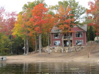 2601 RIDING RANCH RD, South River Ontario, Canada Located on Bray Lake