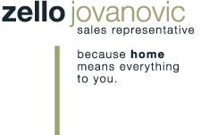 Zello Jovanovic, Remax Professionals Inc., Brokerage, Sales Representative