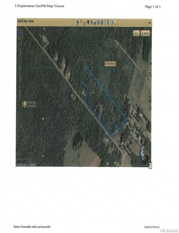 LOT Tibbits Road, Ripples, New Brunswick (ID NB023320)