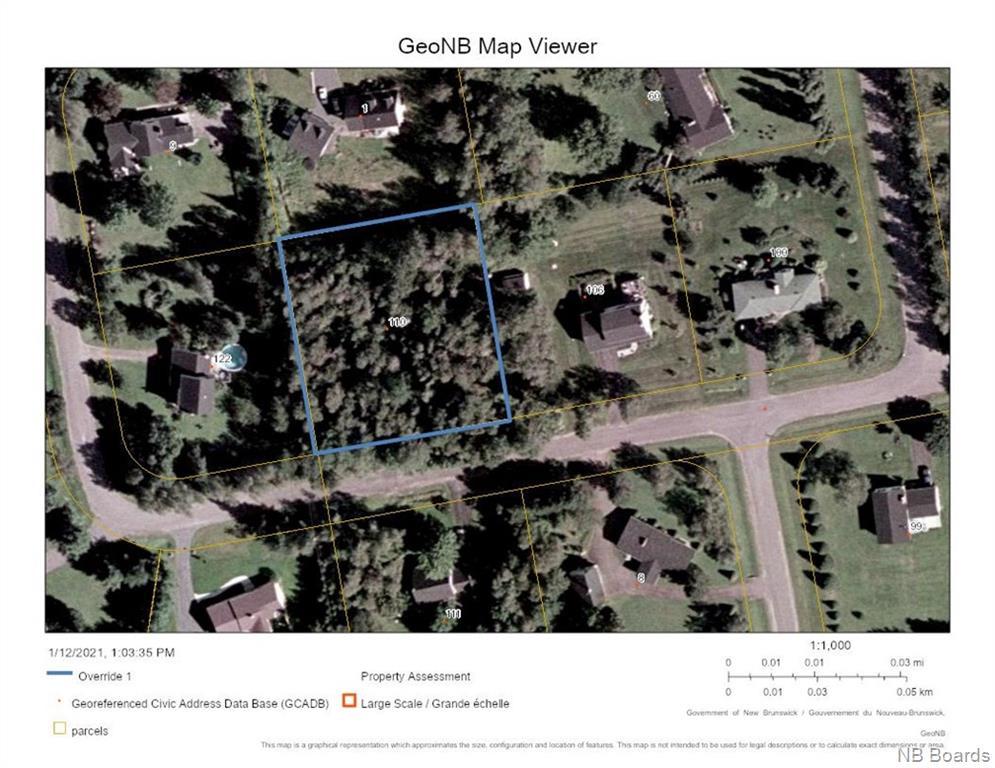 110 Graham Drive, Island View, New Brunswick (ID NB051617)