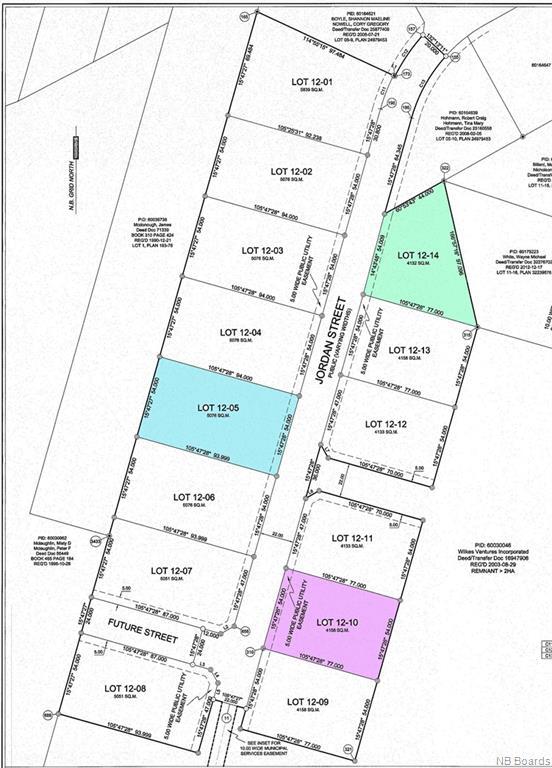 Lot 12-14 Jordan Street, Rusagonis, New Brunswick (ID NB053350)