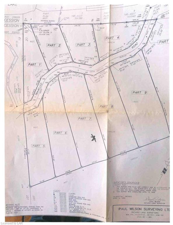 LOT 7 ANDERSON Road, Tory Hill, Ontario (ID 40141962)