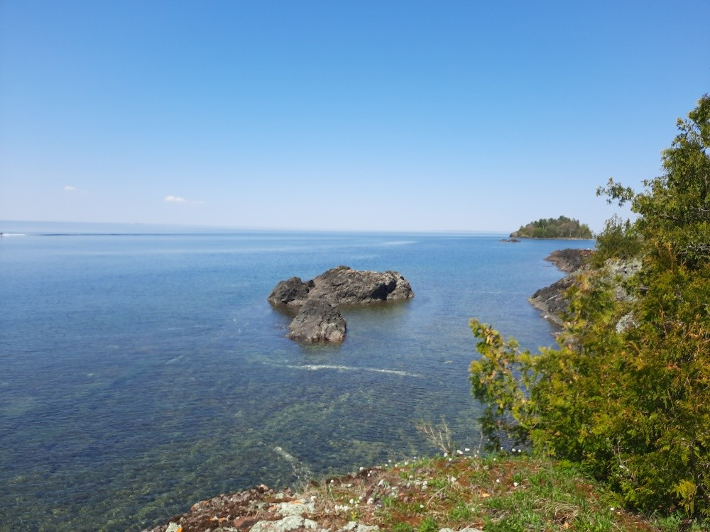 View toward Jackson Island