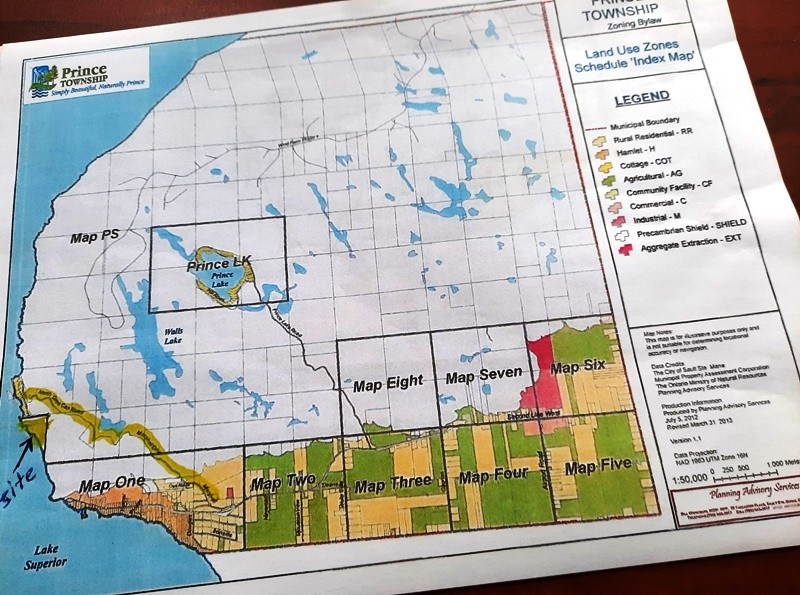 Zoning Map Cottage Residential