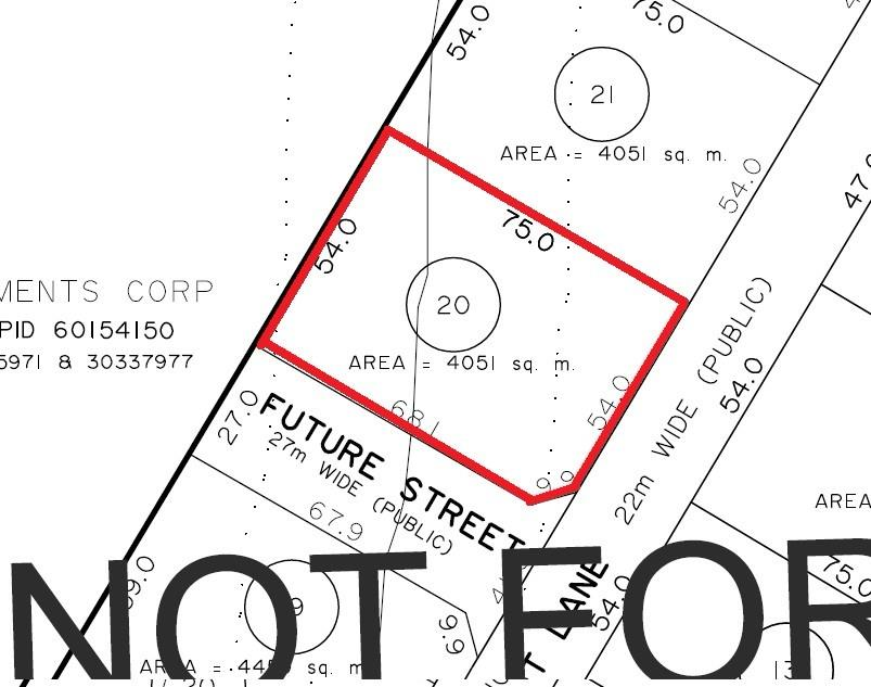 LOT 20 Malbec Lane, Noonan, New Brunswick (ID 06387531K)