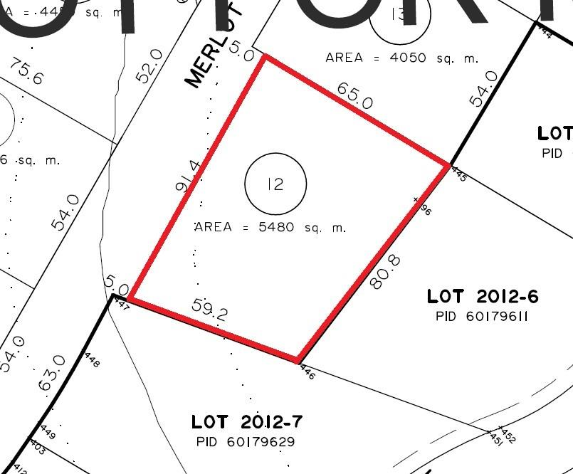 LOT 12 Malbec Lane, Noonan, New Brunswick (ID 06387531H)