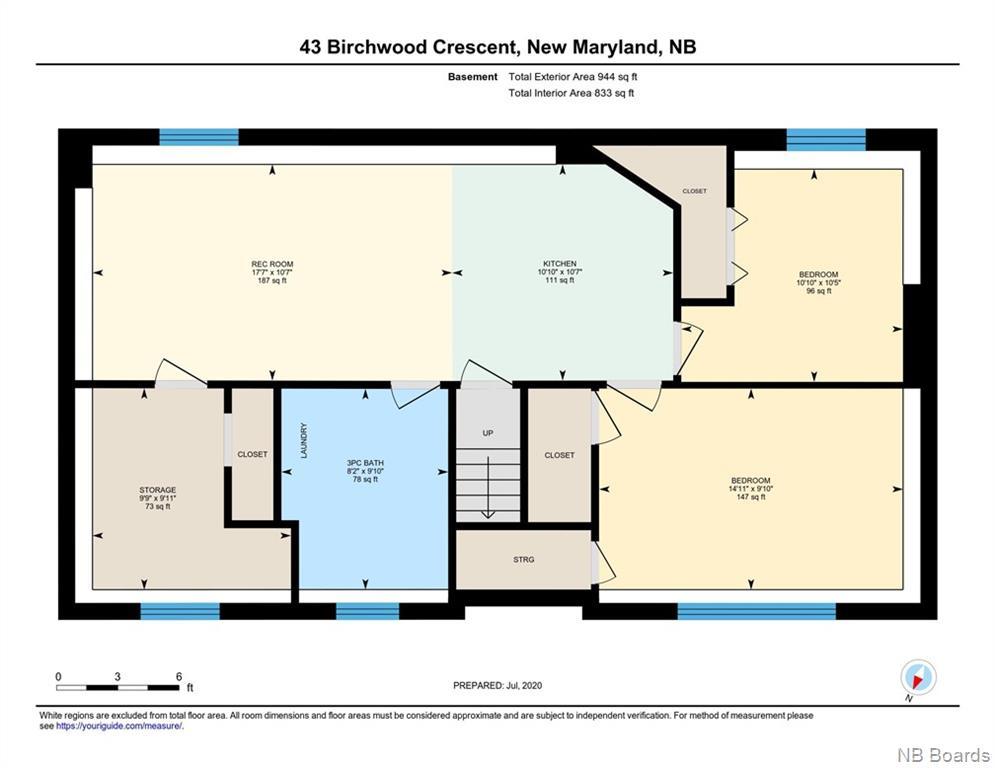 43 Birchwood Crescent, New Maryland, New Brunswick (ID NB045818)