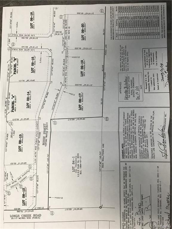 Lot 9-16 Rosie Street, Long Creek, New Brunswick (ID NB038754)