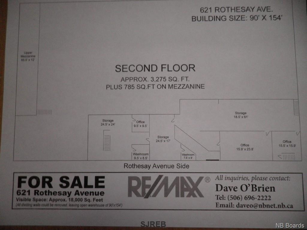 621 Rothesay Avenue, Saint John, New Brunswick (ID NB050867)