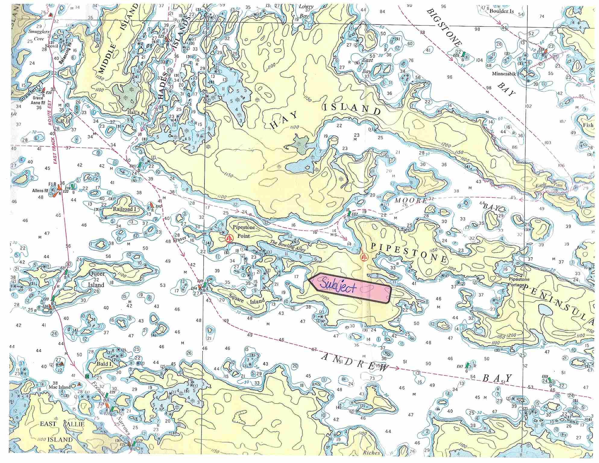 1791 Pipestone Peninsula, Sioux Narrows, Ontario (ID TB190703)