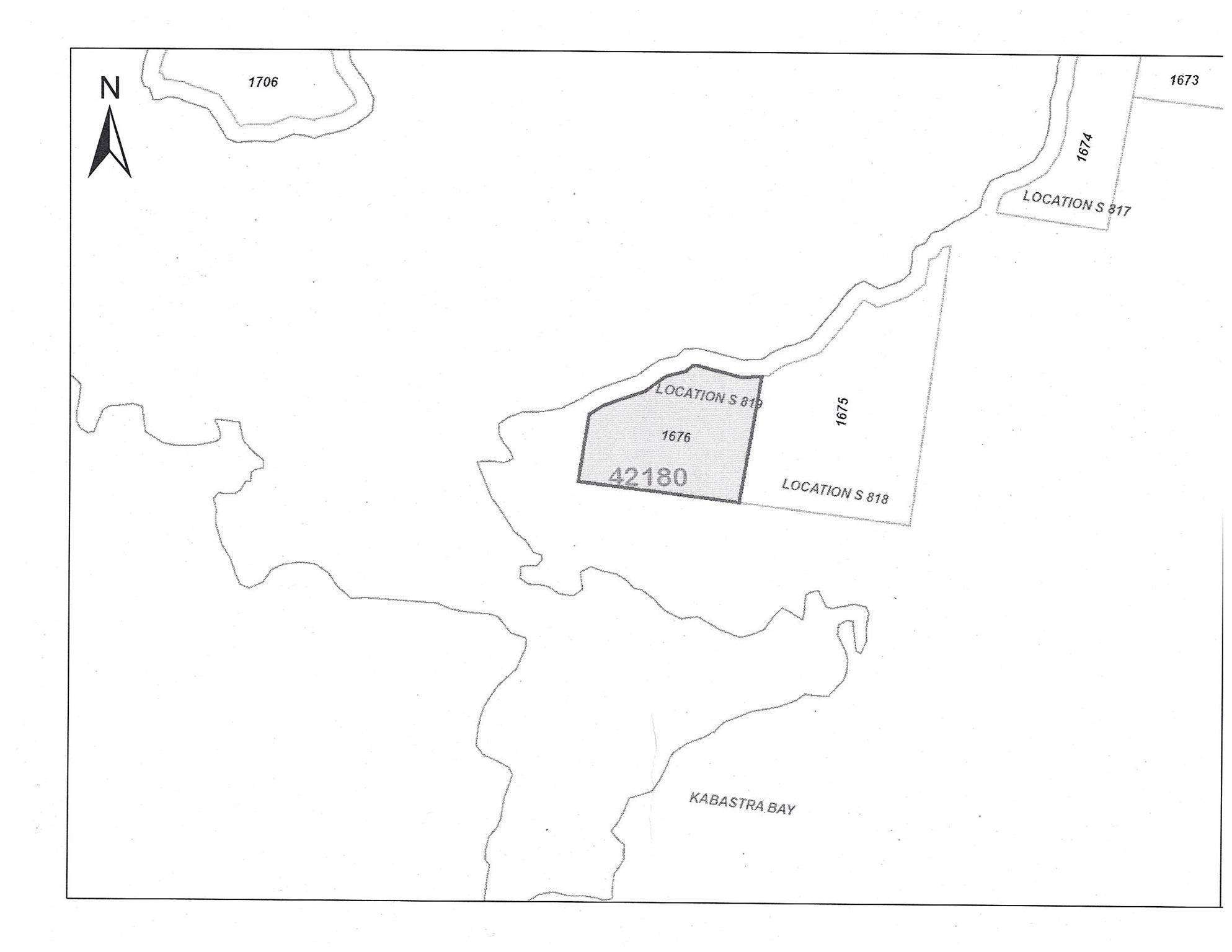 Location S819 Gun Lake, Minaki, Ontario (ID TB202422)