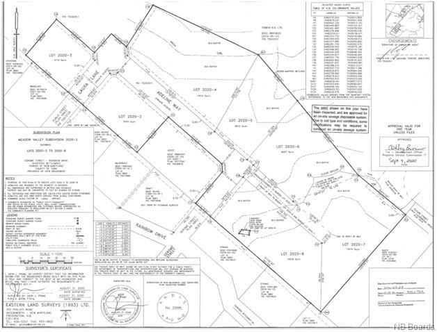 Lot 5 Adeline Way, Charters Settlement, New Brunswick (ID NB050830)