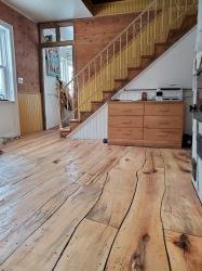 New Live Edge Hardwood Floor