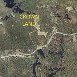 Backing onto Crown Land