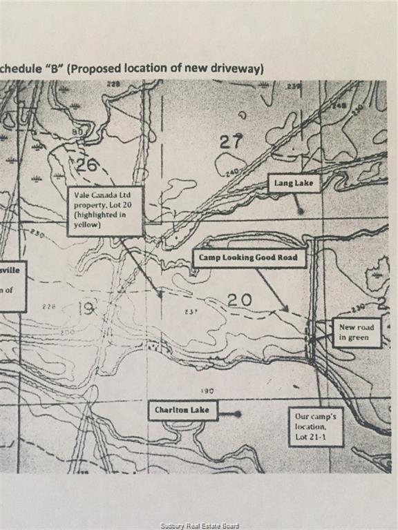 Lot 20 Camp Looking Good Road, Espanola, Ontario (ID 2084916)