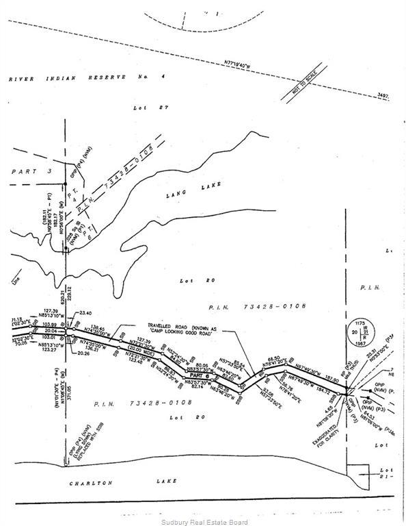 Lot 20 Camp Looking Good Road, Espanola, Ontario (ID 2087633)
