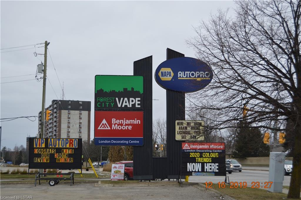 1009 WONDERLAND Road S Unit# 1, London, Ontario (ID 40072756)