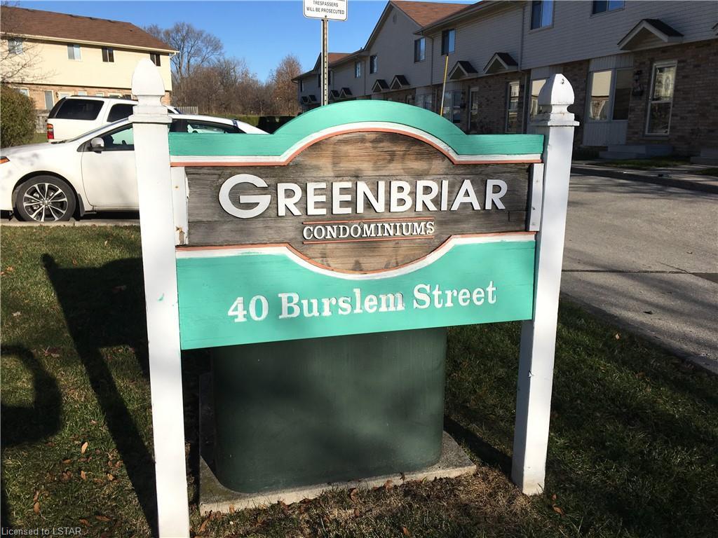 40 BURSLEM Street Unit# 1, London, Ontario (ID 244294)