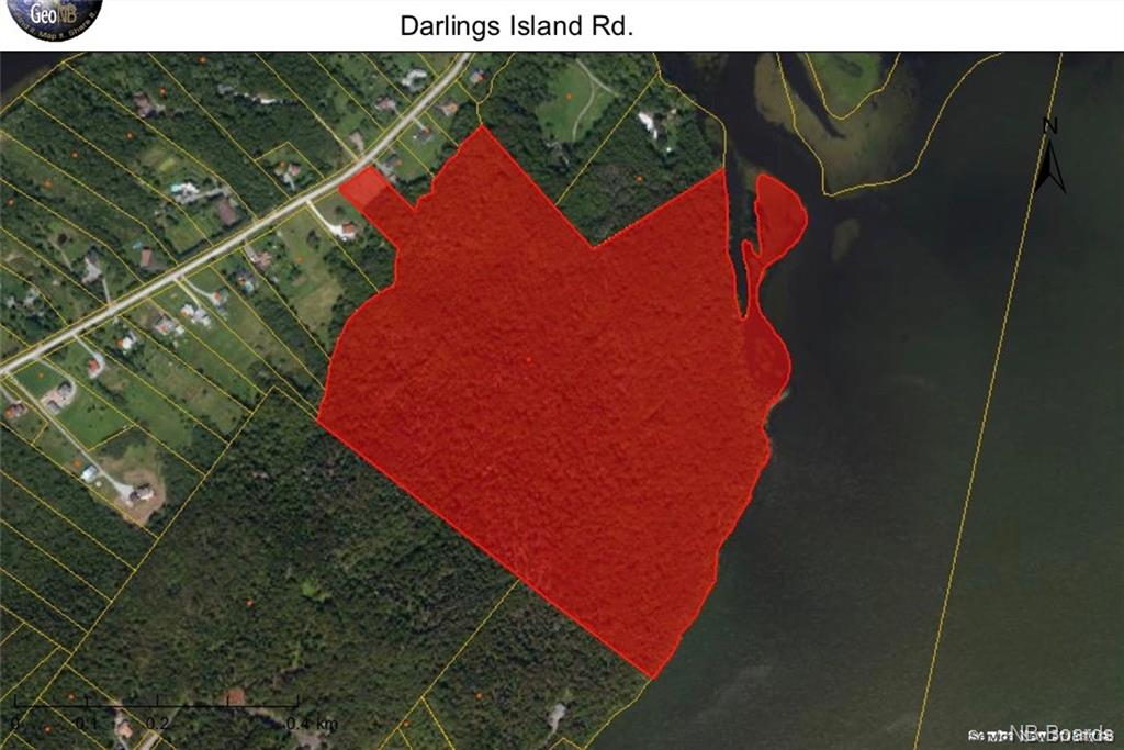 - Darlings Island Road, Darlings Island, New Brunswick (ID NB033320)
