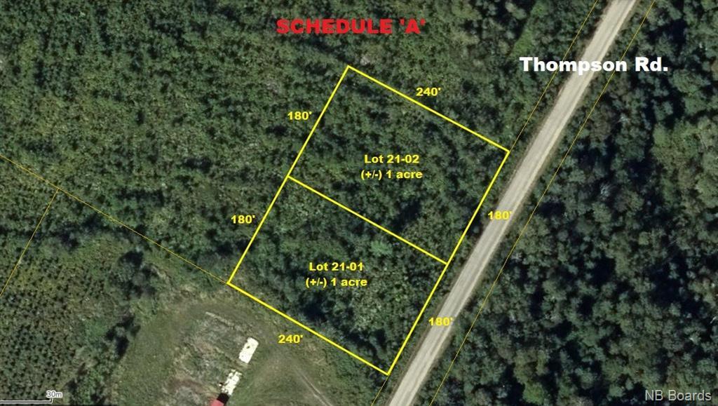 Lot 21-02 Thompson Road, Kierstead Mountain, New Brunswick (ID NB055359)