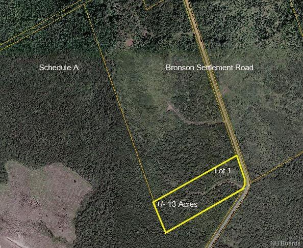 Lot 1 Bronson Settlement Road, Chipman, New Brunswick (ID NB061545)