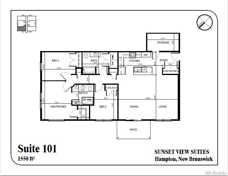 79 Mapleview Drive Unit# 101, Hampton, New Brunswick (ID NB050579)