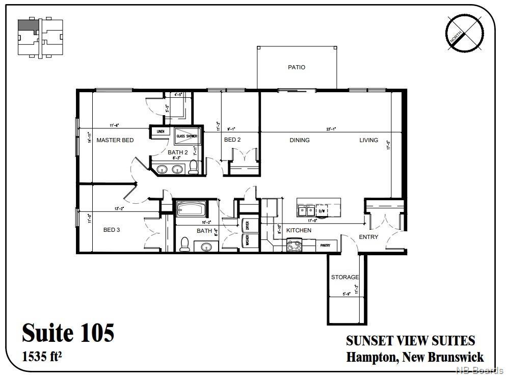 79 Mapleview Drive Unit# 105, Hampton, New Brunswick (ID NB050585)