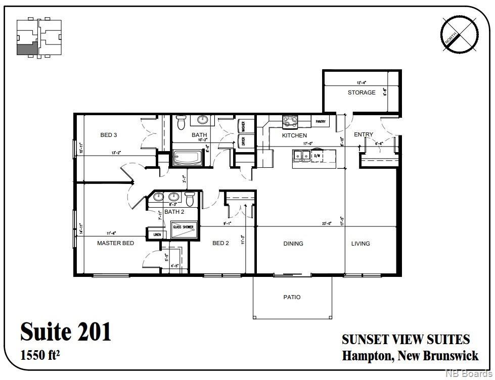 79 Mapleview Drive Unit# 201, Hampton, New Brunswick (ID NB050588)