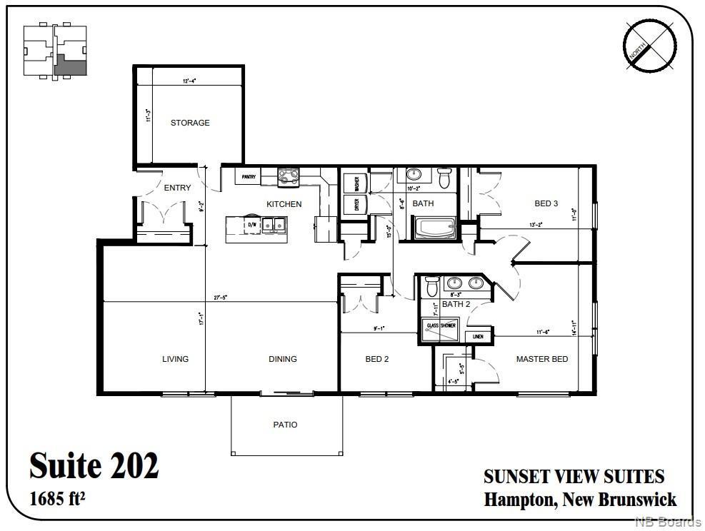 79 Mapleview Drive Unit# 202, Hampton, New Brunswick (ID NB050589)