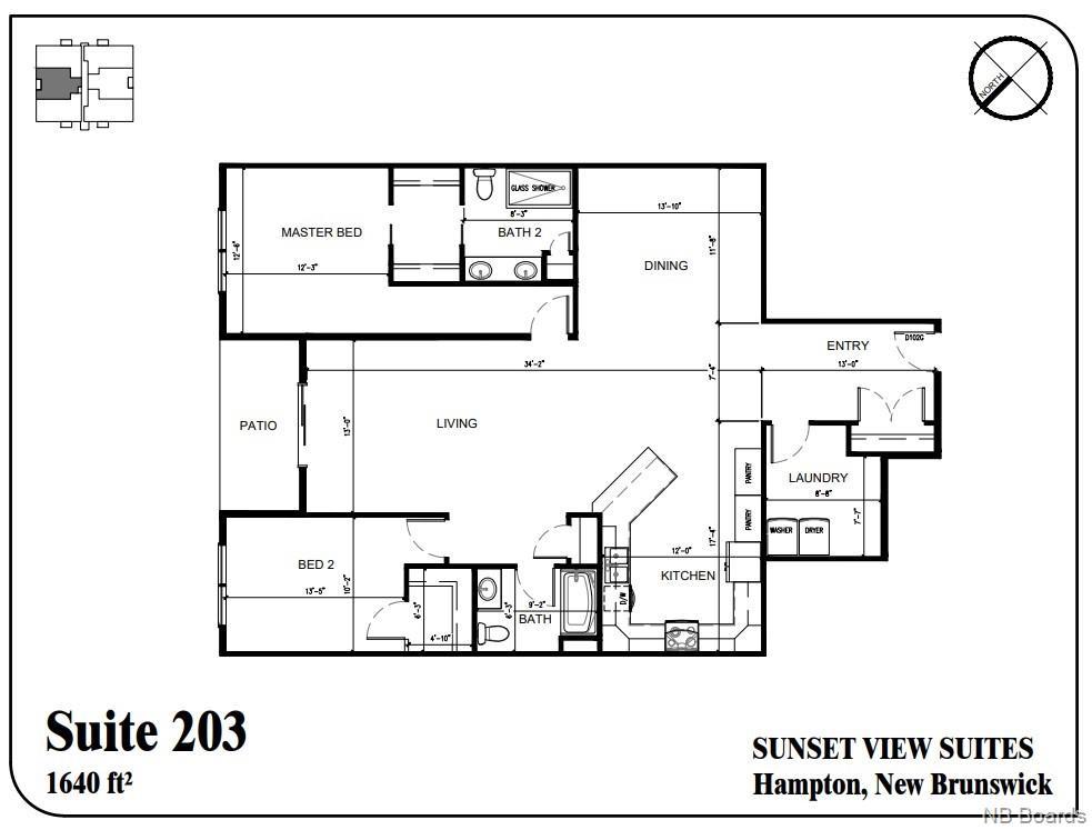 79 Mapleview Drive Unit# 203, Hampton, New Brunswick (ID NB050591)