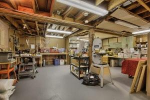 25'x25' Workshop in Basement