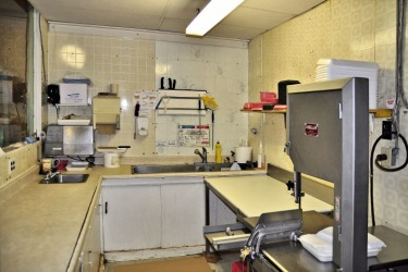 Meat Cutting Room