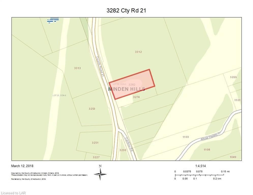 3282 COUNTY ROAD 21 Road, Minden, Ontario (ID 112533)