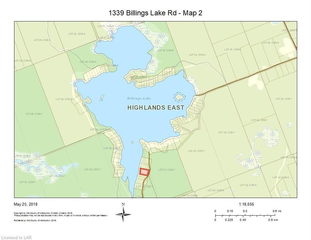 1339 BILLINGS LAKE Road, Gooderham, Ontario (ID 129100)