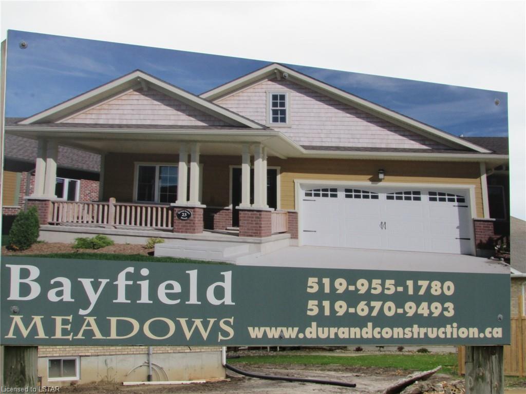 29 THIMBLEWEED Drive, Bayfield, Ontario (ID 230988)