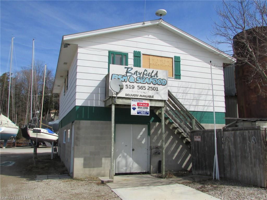 47 FISHERMAN'S WHARF Road, Bayfield, Ontario (ID 237619)