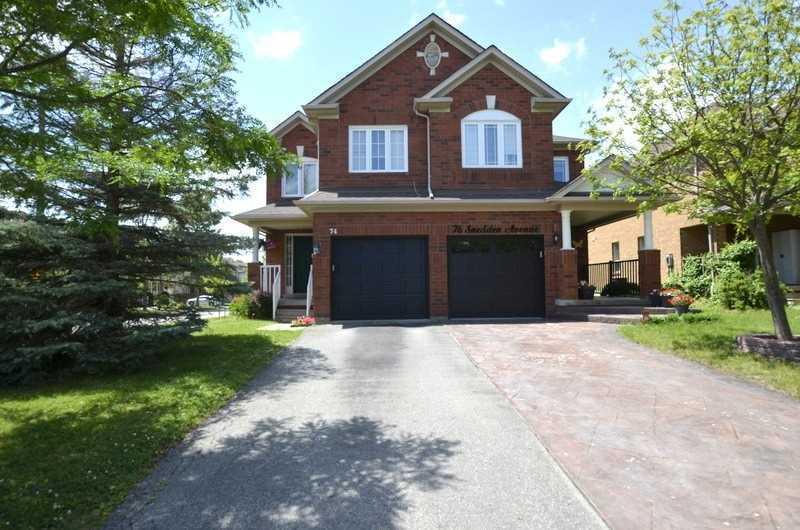 74 Snedden Ave, Aurora, Ontario (ID N4683400)