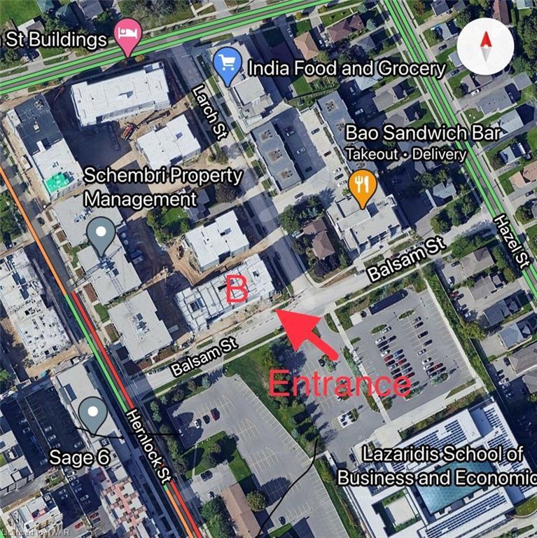 275 LARCH Street Unit# B-110, Waterloo, Ontario (ID 40027998)
