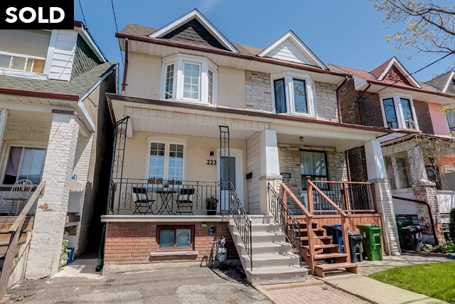 223 Silverthorn Avenue, Toronto, Ontario (ID W4457063)