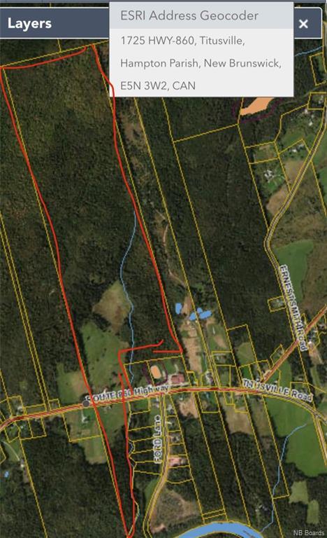 1725 Route 860, Titusville, New Brunswick (ID NB059330)