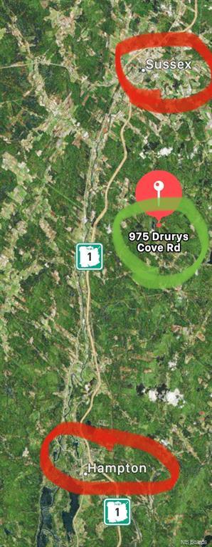 975 Drurys Cove Road, Sussex, New Brunswick (ID NB063789)