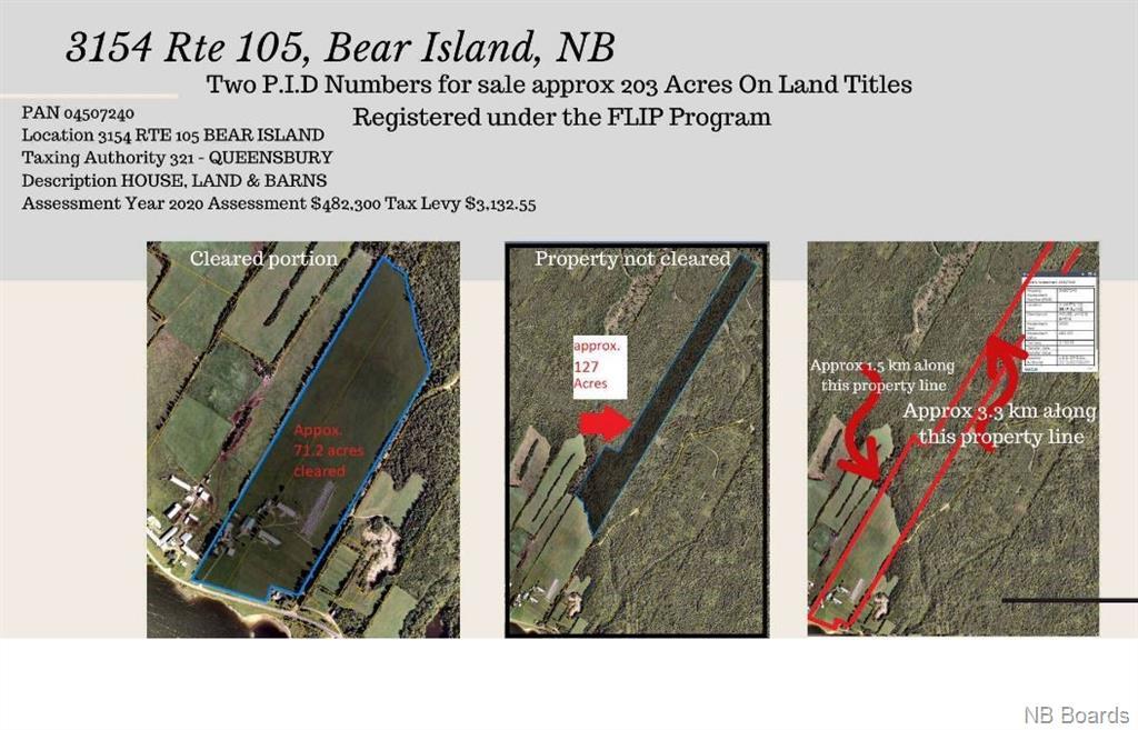 3154 105 Route, Bear Island, New Brunswick (ID NB042845)