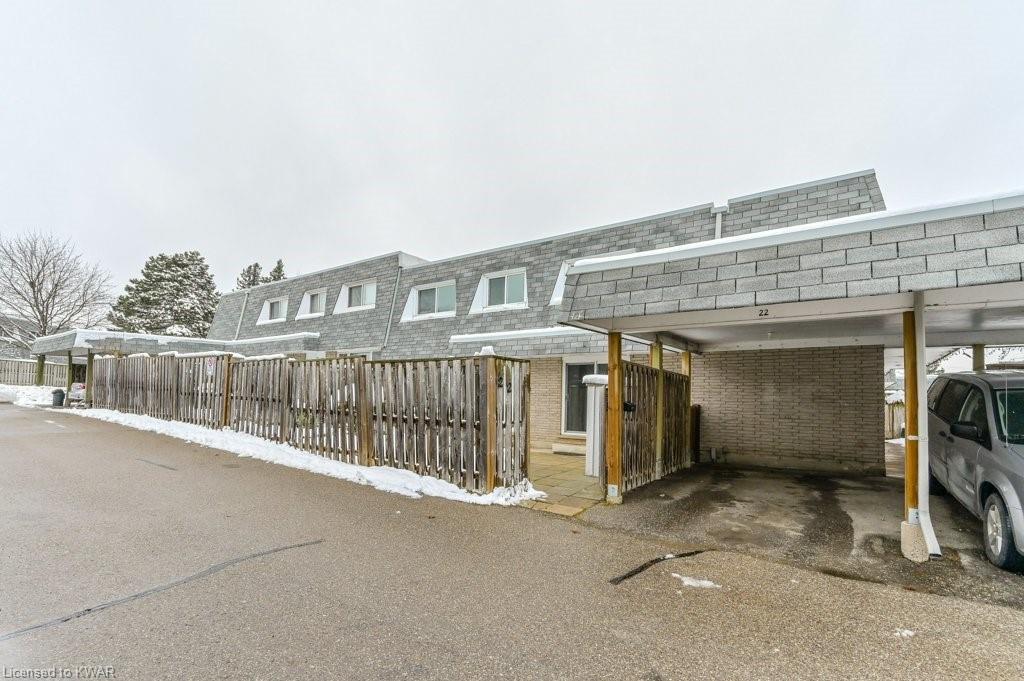 14 WILLIAMSBURG Road Unit# 22, Kitchener, Ontario