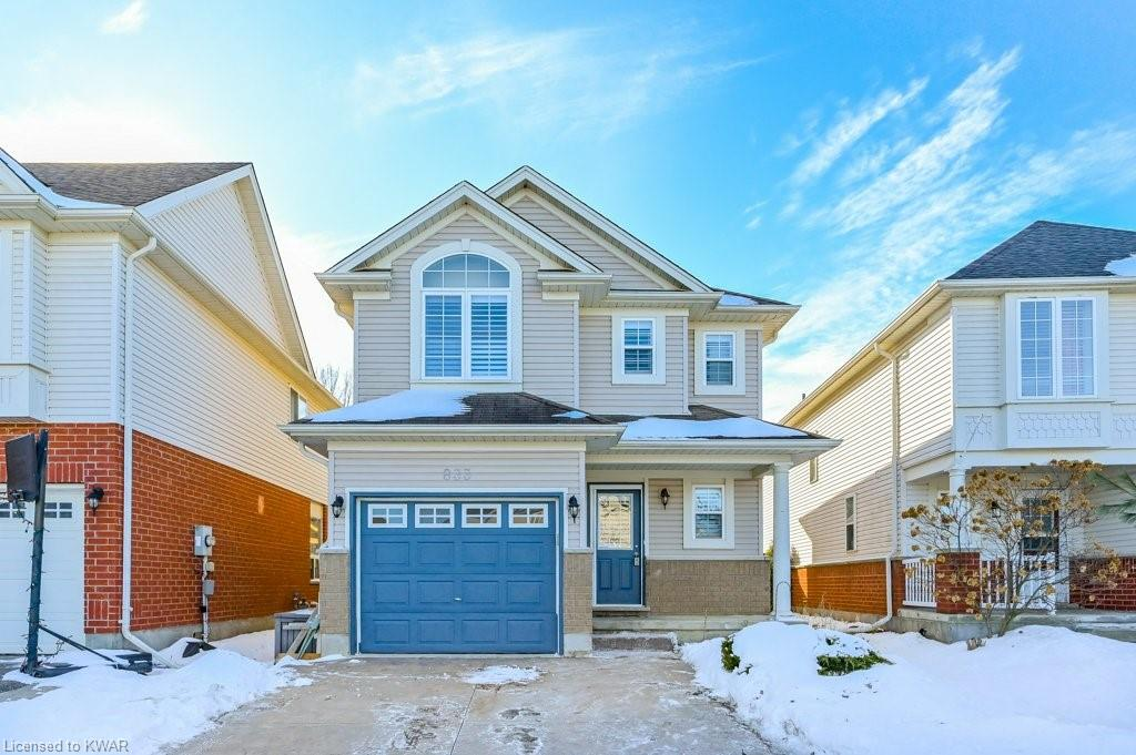 833 GRAND BANKS Drive, Waterloo, Ontario